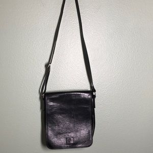 VALENTINA IN PELL Leather Messenger Bag